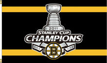 NHL Boston Bruins Champions 2011 Flag Banner New 3x5ft 90x150cm Polyester 9648, free shipping(China)