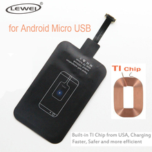LEWEI Micro USB Qi Wireless Charger Receiver Coil Module for Samsung Xiaomi Huawei HTC Sony LG Nokia Oppo Micro USB SmartPhones(China)