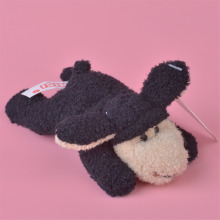 3 Pcs Black Sheep Plush Fridge Magnet Toy, Kids Child Doll Gift Free Shipping