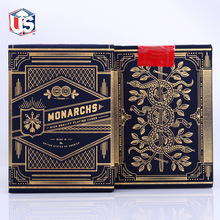 1 Deck of Theory11 Monarch Playing Cards Monarchs Deck T11 Poker Magic Cards Close Up Magic Tricks for Professional Magician