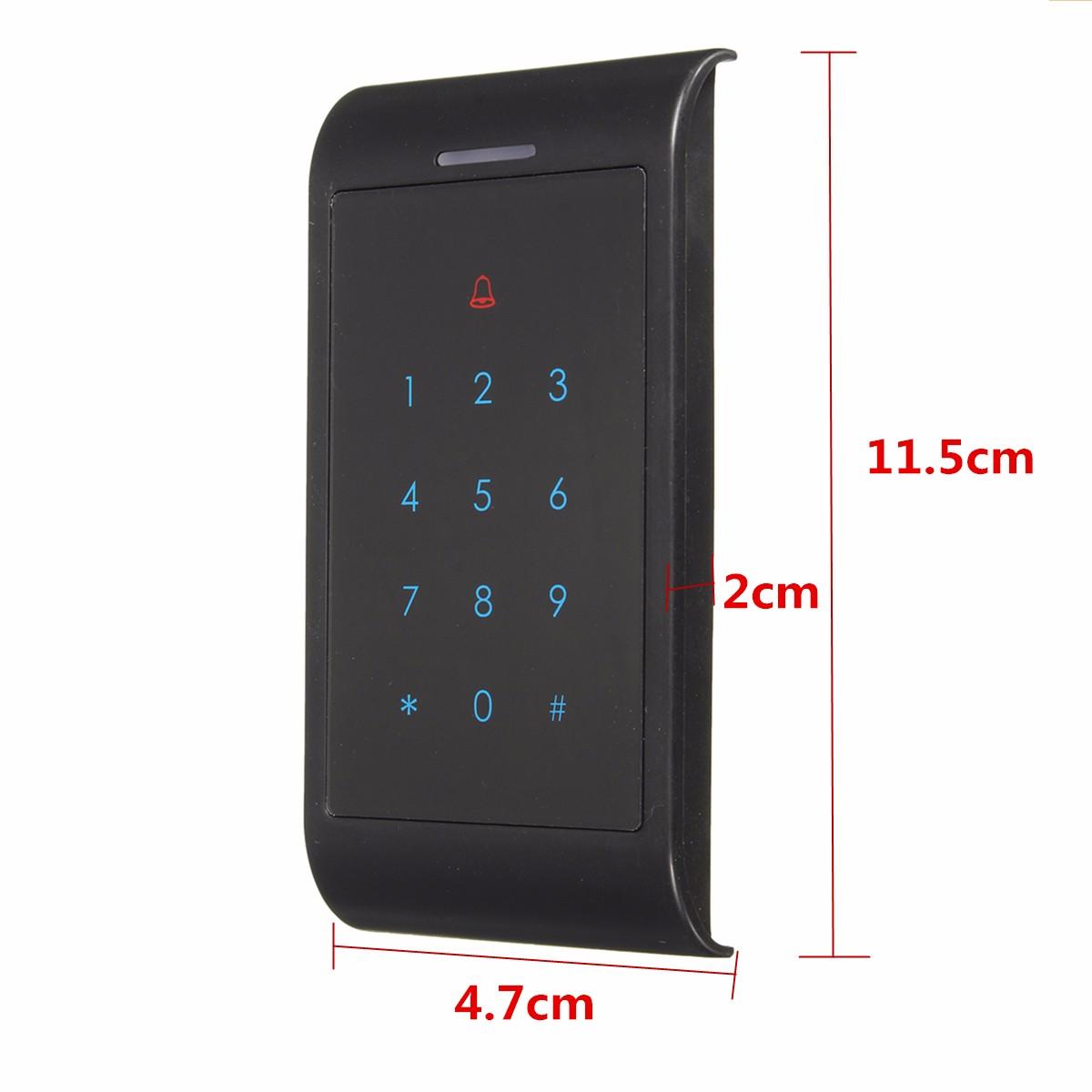X8-ID 125KHz One Door Access Control System Machine Electric Strike Lock 10 ID Card
