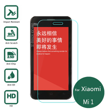 For Xiaomi Mi1 Tempered Glass Screen Protector 2.5 9h Safety Protective Film on Mi-1 M1 M1S Mi-1S 1S Mi-one Mi band 1 S Mi1s C1(China)