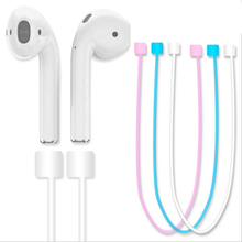 Buy Silicone Wire Anti Lost Rope Bluetooth Headphones Sports Wire Anti Lost Rope iPhone 7 Plus Air Pods for $1.87 in AliExpress store