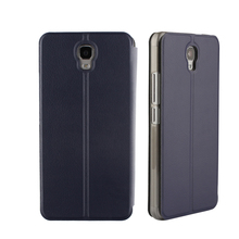 High Quality Leather Flip Case For Oukitel K6000 Plus 5.5inch 4G Smart Cell Phone Cover With Soft Protective Case Built Inside