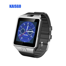 WITH BOX KAISGO DZ09 Fashion Camera Bluetooth Sport Smart Watch Support SIM TF Card For Android Phone Smartwatch Man Women watch
