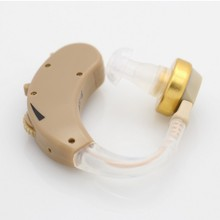 New Best MINI Hearing Aids Aid Adjustable Sound Amplifier Behind the ear Personal care tools High Quality Cell Battery