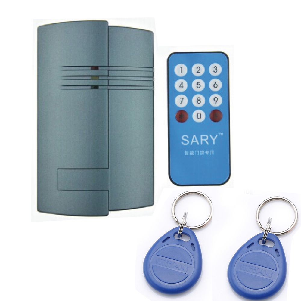 Free shipping DIY SY - RK1588  RFID 13.56MHZ m1 card access control system +10pcs cards+remote<br>