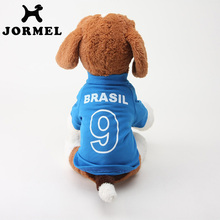 JORMEL 2017 Cat Dog Shirt World Cup Soccer Jersey Pet Vest Football National Team Sports Wear Clothes for Dogs Breathable