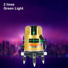 high precision laser level standard 20 times green light 2 lines 2 enhancement points decoration instrument tools li-ion