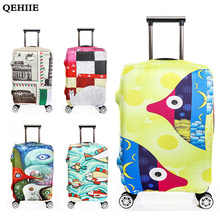 High Quality Suitcase Protection Cover For 18-32 Inch Suitcase Fashion Personality Dust Thickening Cover 2017 Travel Accessories(China)