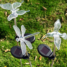 Home Solar Energy Butterfly Shaped LED Night Light Nightlight Desk Lamp Lampe Solaire Exterieur