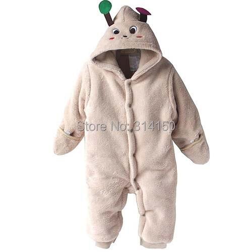 baby boy/girl  winter cartoon  modelling rompers baby one-piece romper children warm jumpsuit Polar fleece 1pcs<br><br>Aliexpress