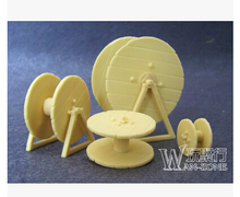 1/35 WW2 soldier Scene model accessories WWII Resin Model of  Cable reel
