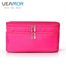 VEAMOR Oxford Storage Bag Bra Underwear Lingerie Travel Bag for Women Organizer Suitcase Space Saver Container Bags WB1488(China)