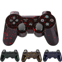 Snowflake spot pattern Joystick Bluetooth wireless Gamepad for Sony PS3 Game controller wireless controller