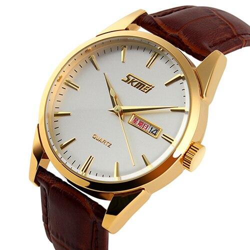 Watches Men Luxury Brand Gold Wrist Watches Leather Strap Mens Business Casual Quartz Watch Man Hours Clock Relogio Masculino<br><br>Aliexpress