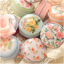 Multi Styles Storage Small Handmade Series Comfrey Ointment Box Pill Boxes Tin Box Lipstick Case Vaseline 48 Pcs/lot