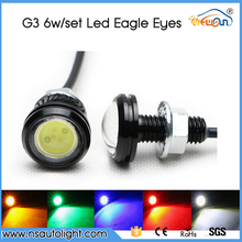 China manufacturer third generation DRL led eagle eye light headlight for truck jeep suv super thin daylight led eagle light