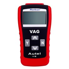 2017 Best Selling Autel Code Reader MaxScan VAG405 CAN VW/AUDI Scan Tool VAG 405 OBD2 Code Scanner Free Shipping