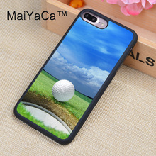 MaiYaCa Golf Ball Cell Phone Cases For iphone 8 Plus For Apple iPhone 8Plus TPU Back Cover Cases Coque(China)