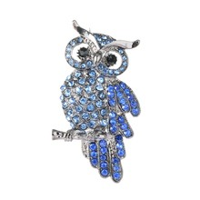 Jqueen 2017 New Brooch Retro Owl Clothing Accessories Hot Pin Charming Chic High-grade Unisex Individuality Gift Hot Sale(China)