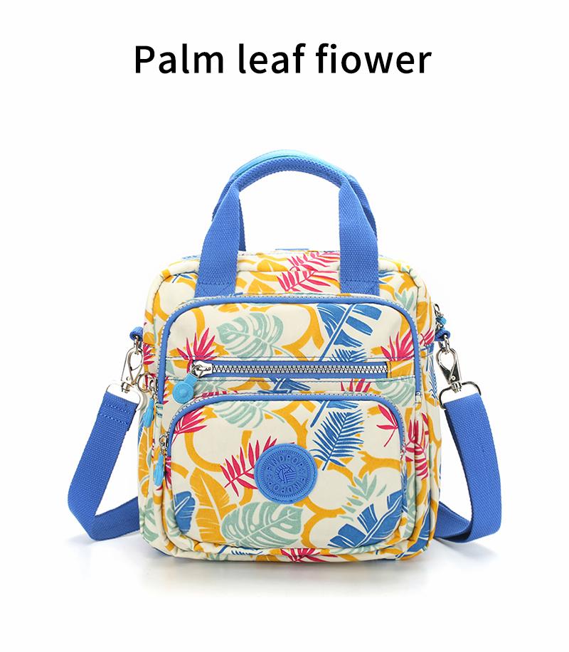 2018 Findpop Nouveau Floral Impression Sacs À Main Femmes Mode Casual Vintage Sacs À Main Toile Imperméable Petit Bandoulière Sacs Pour Femmes 18