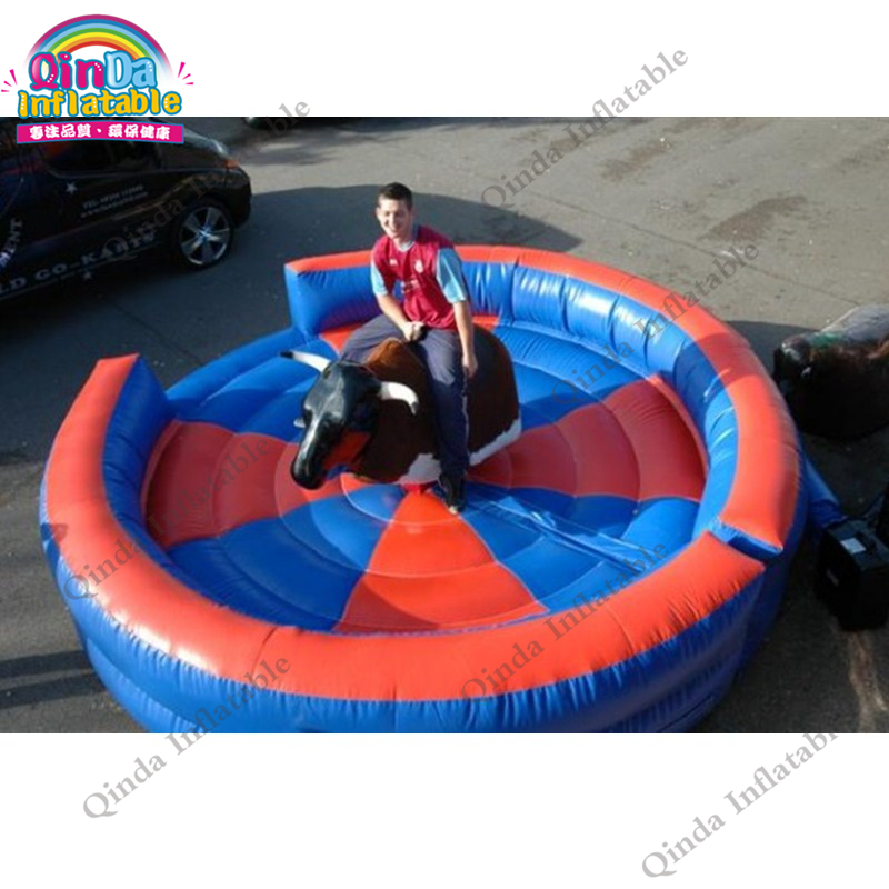 inflatable mechnical bull mat16