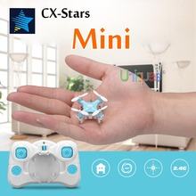 Cheerson CX-stars Smallest Mini Drone RC Quadcopter 4CH RTF Remote Control Helicopter Pocket Quadrocopter UFO Toys Mini CX-10