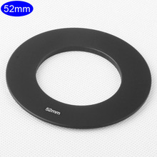 Camera Lens Adapter Ring 52mm Thread Metal for Cokin P Series Gradient Square Filter Holder Mount