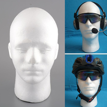 1x Mannequin Head Hair Hairdressing Men Cosmetology Mannequin Heads Manikin Wig Glasses Hats Display Stand