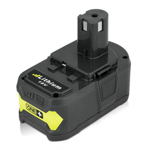 For Ryobi 18V 4000mah Lithium Ion P108 RB18L40 High Capacity Rechargeable Battery Pack Power Tool Battery for Ryobi ONE+