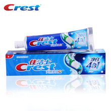 Crest White Natural Multi-effect 4 in1 Protection Toothpaste Whitening Tooth Paste Mint Squeezer Toothpaste 120g(China)