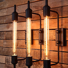 Wall Lamps American Loft Style Edison Vintage Industrial Wall Lights Wall Sconce for Home Lighting Indoor Outdoor Decoration