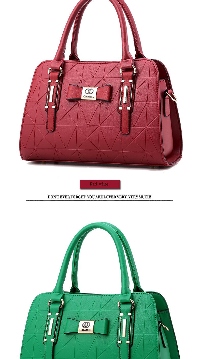 MICKY KEN Hot Sale Fashion Women Leather Handbag 8