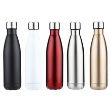 350ML & 500ML Outdoor Water Bottle Cycling Camping Bicycle Sports Thermal Insulation Stainless Steel Bottle For Water Cola Style(China)