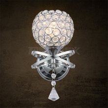 Factory direct sales wall sconce crystal new design wall lamp OEM wall lights for bedroom