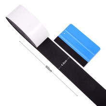 EHDIS 500CM Vinyl Car Wrap Carbon Fiber Fabric Film Felt Cloth For Card Squeegee Scraper Window Tints Tool Auto Wrapping Sticker(China)