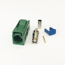 1PC RF Fakra E 6002 SMB Female Jack Connector Crimp RG316 RG174 LMR100 Cable for TV1 NEW wholesale