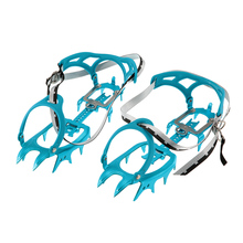 14 Teeth Crampon Ice Gripper Aluminum Alloy Professional Mountaineering Expeditions Snow Crampons Climbing Gear Hiking Boots