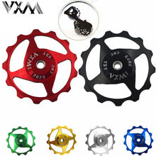 Buy VXM Bicycle Rear Derailleur Pulley 11T 13T MTB Road Bike Rear Derailleur Pulley Roller Idler Bearing Jockey Wheel Bicycle Parts for $3.00 in AliExpress store