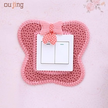 JY 26   2017 Hot Selling   Pastoral Style Switch Cover Butterfly Shape Switch Wall Stickers 421