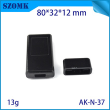 50 pieces, 80*32*12mm hot sales abs stick usb small plastic box electronics enclosure flash drive project housing box