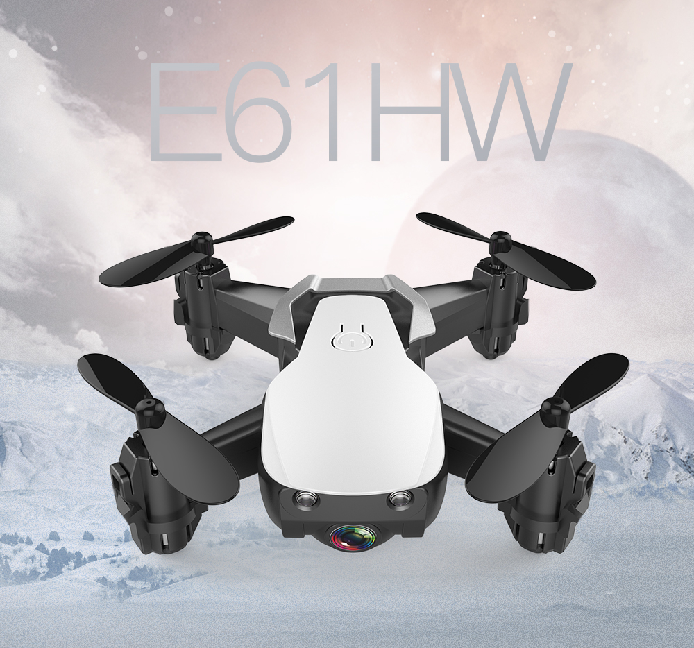 Eachine Quadcopter Rc-Drone Foldable Hd-Camera Mini Wifi FPV with Altitude Hold-Mode title=