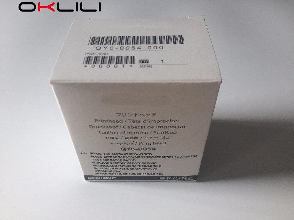 ORIGINAL NEW QY6-0054 QY6-0054-000 Printhead for Canon 450i 455i 470PD 475PD MP375R MP390 MP360 MP370 i450 i470D i475D iP2000<br><br>Aliexpress