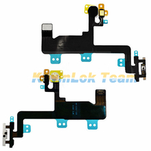 "High Quality Power Button Flex Cable Ribbon Light Sensor For iPhone 6 4.7"" Power Switch On / Off Replacement Parts(China)"