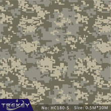[Width 0.5M] Military Camouflage Transfer Printing Film, 5 Sqm Hydrographic film, Hydro Dipping Film Film For Aqua Print