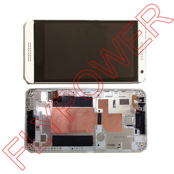 LCD display screen + Touch sreen digiziter with frame For HTC desire D610 610 WhIte By Free Shipping<br><br>Aliexpress