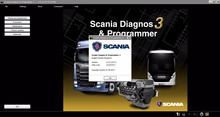 ForScania SDP3 2.31 without  USB Dongle+activation