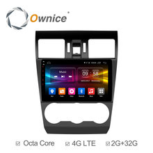 Ownice C500+ Android 6.0 Octa Core Car DVD GPS Navigation Player Car Stereo for Subaru Forester 2013 2014 2015 2016 32GB 4G LTE