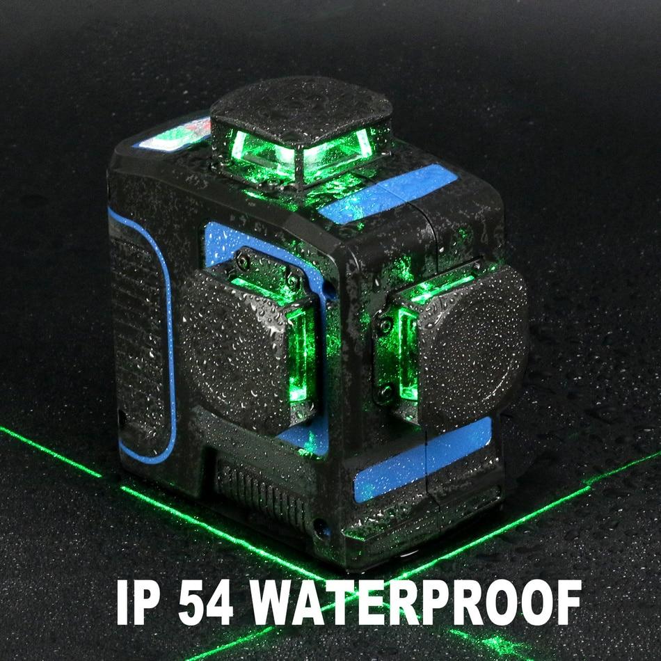 KaiTian Laser Level 360 Green Line 6